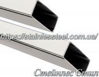 Труба нержавеющая профильная 100Х50Х1,5 AISI 304 (зеркальная)