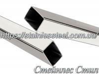 Труба нержавеющая профильная 20Х15Х1,5 AISI 201 (600 grit)