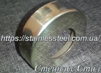 Чашка (крышка) AISI 201 для трубы ∅ 42.4 мм