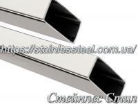 Stainless Pipe profile 100Х50Х1,5 AISI 304 (mirror)