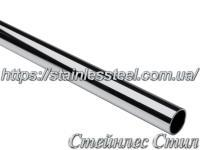 Tube stainless round 14Х1,5 AISI 201 (mirror)
