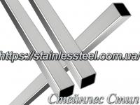 Stainless Pipe profile 16Х16Х1,2 AISI 201 (mirror polished to 600 grit)