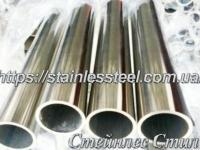Tube stainless round 32Х3 AISI 201 (mirror)
