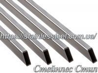 Stainless Pipe profile 60Х20Х2,0 AISI 201 (mirror polished to 600 grit)