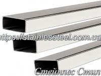Stainless Pipe profile 20Х10Х1,5 AISI 304 (mirror)