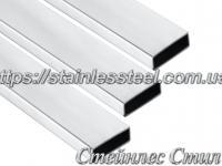 Stainless pipe profile 80Х20Х1,5 AISI 304 (mirror)