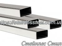 Stainless Pipe profile 30Х15Х1,5 AISI 304 (mirror)
