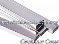 Stainless Pipe profile 30Х20Х1,5 AISI 304 (mirror)