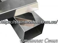 Stainless Pipe profile 40Х25Х1,5 AISI 201 (mirror polished to 600 grit)