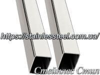 Stainless pipe profile 40Х30Х1,5 AISI 201 (600 grit)