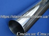 Tube stainless round 42,4Х3 AISI 201 (mirror)