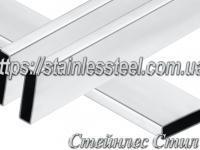 Stainless pipe profile 60Х10Х1,5 AISI 304 (mirror)