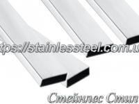 Stainless pipe profile 60Х20Х1,5 AISI 304 (mirror)
