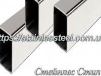 Stainless pipe profile 60Х30Х1,5 AISI 304 (mirror)