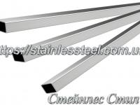 Stainless pipe profile 60Х30Х2 AISI 201 (600 grit)