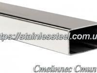 Stainless pipe profile 60Х40Х1,5 AISI 304 (mirror)