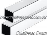 Stainless pipe profile 60Х60Х3 AISI 304 (mirror)