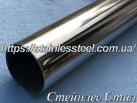 Tube stainless round 76,1Х2 AISI 201 (mirror)