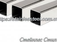Stainless pipe profile 10Х10Х1,2 AISI 304 (mirror)