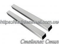 Stainless pipe profile 15Х15Х1,5 AISI 304 (mirror)