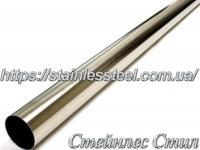 Tube stainless round 18,0Х1,0 AISI 304 (polished 600 grit)