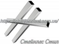 Stainless pipe profile 20Х20Х1,2 AISI 304 (mirror)