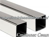 Stainless Pipe profile 25Х25Х1,5 AISI 304 (mirror)