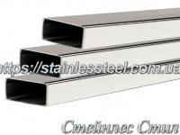 Stainless Pipe profile 30Х10Х1,5 AISI 304 (mirror)