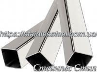 Труба нержавіюча профільна 30х30х1,5 AISI 304 (дзеркальна)