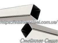 Stainless pipe profile 50Х50Х1,5 AISI 304 (mirror)