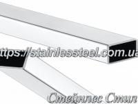 Stainless Pipe profile 80Х40Х2,0 AISI 304 (mirror)