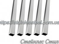 Stainless Pipe profile 20Х20Х2 AISI 304 (mirror)