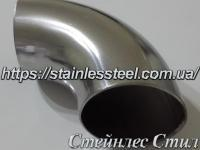 Elbow 32Х1,5 AISI 304 (polished, angle 90°)