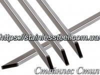 Stainless pipe profile 80Х20Х2 AISI 201 (600 grit)