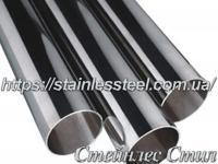 Tube stainless round 80Х2 AISI 201 (mirror)