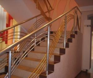 Stainless steel pipe for handrail 50